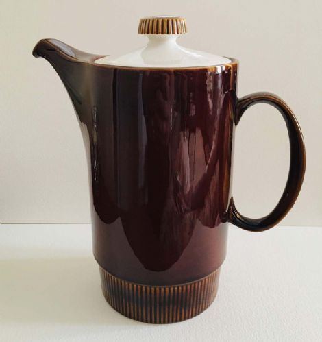 Poole Pottery Chestnut - Coffee Pot